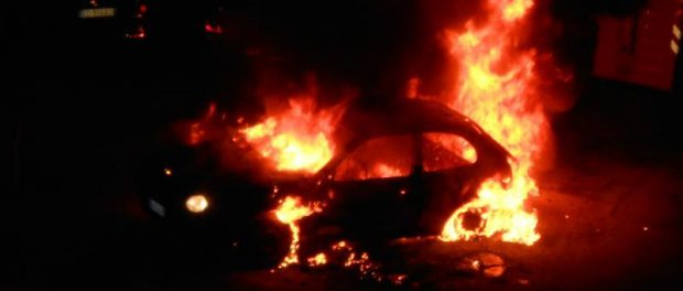 incendiata auto fiamma siracusa times
