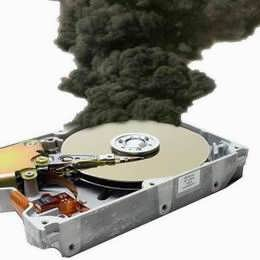 crash hard disk