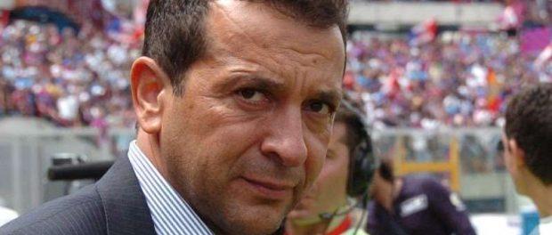L'ex patron del Calcio Catania, Antonino Pulvirenti