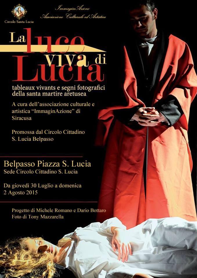 Tableaux vivant Santa Lucia Siracusa Times