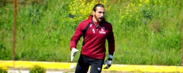 Gabriele Ferla, estremo difensore dell'Usd Noto calcio