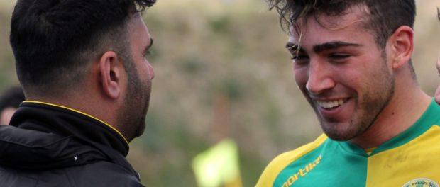 Lorenzo Gennarini col tecnico Massimo Attardo palazzolo siracusa times