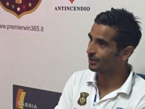 Il giocatore del Città di Siracusa, Catania
