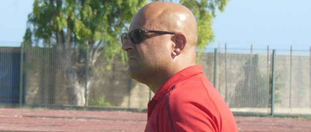 Nicola Bonarrivo, tecnico del Belvedere Calcio