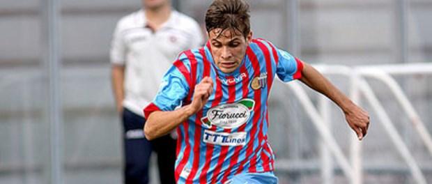 Simone Caruso, centrocampista classe '94 (clicca per ingrandire)
