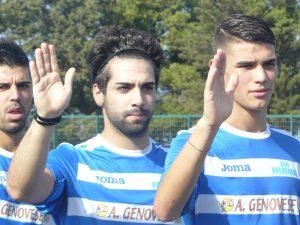 Salvo Formica (al centro) belvedere calcio siracusa times
