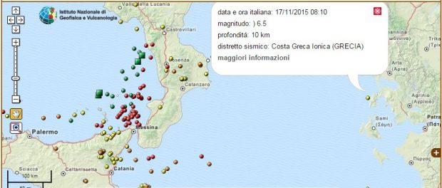 terremoto siracusa times