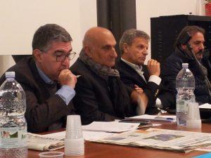Claudio Barone, Stefano Munafò e Giorgio Bandiera