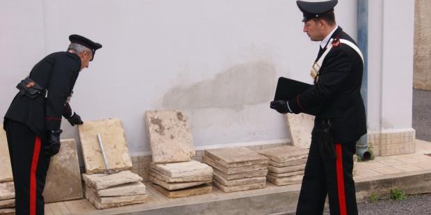cassibile carabinieri furto mattonelle siracusa times