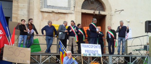sciopero francofonte Siracusa Times