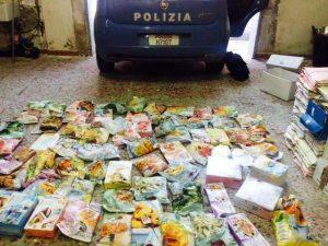 furto surgelati polizia - siracusatimes