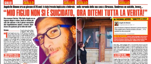 Angelo De Simone Giallo Siracusa Times