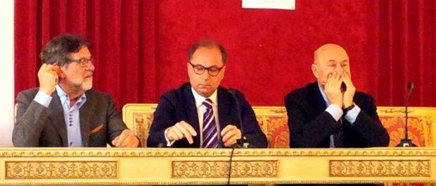 Elio Pintaldi, Corrado Bonfanti e Paolo Mieli
