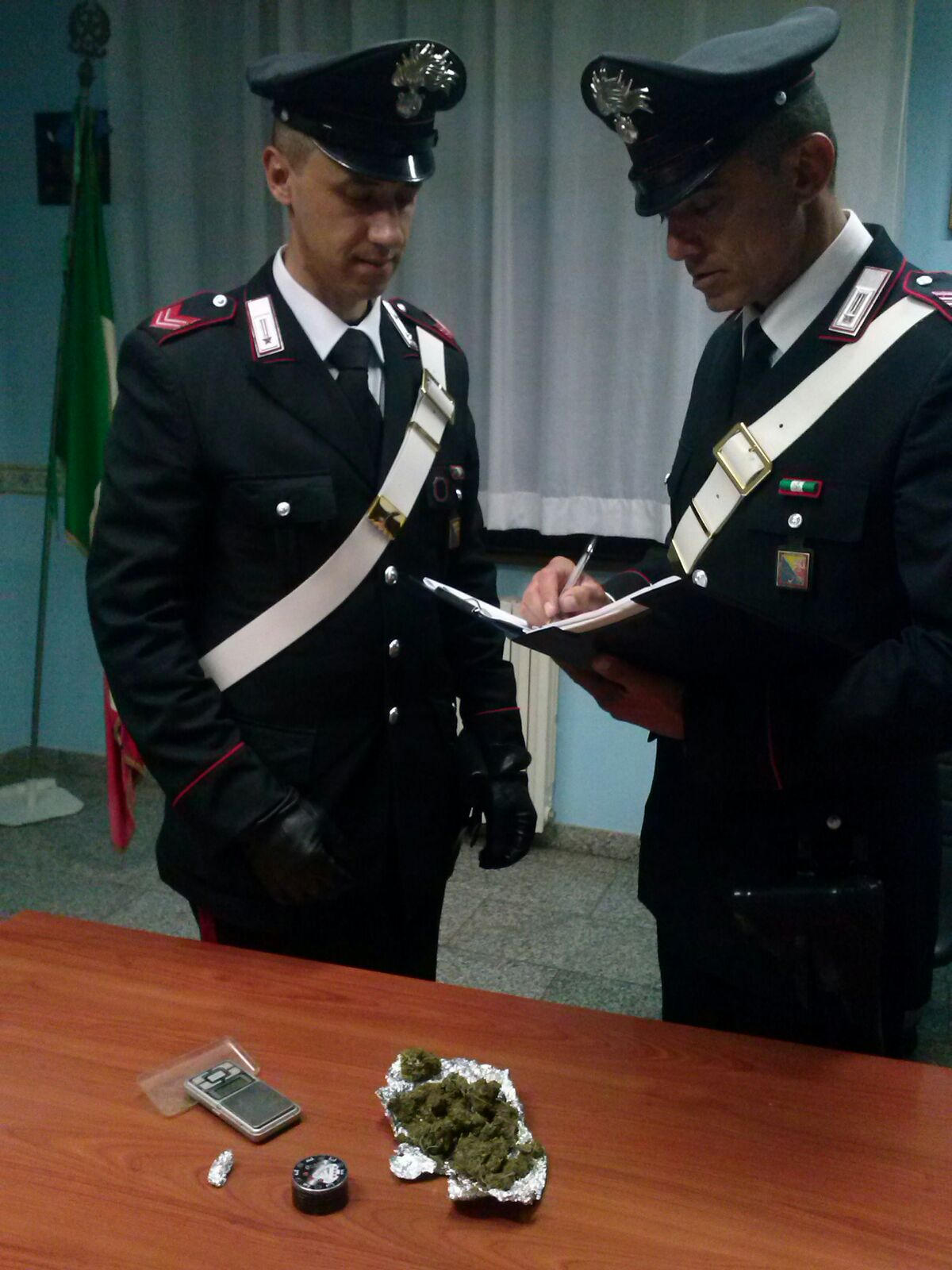 arresto PICCIONE