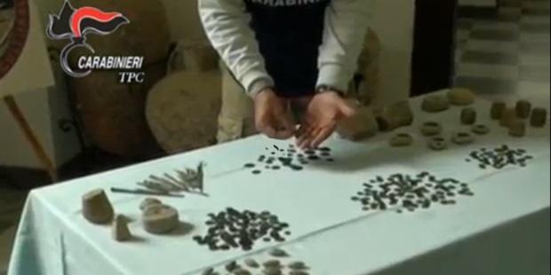 carabinieri TPC traffico internazionale beni archeologici siciliani operazione Himera