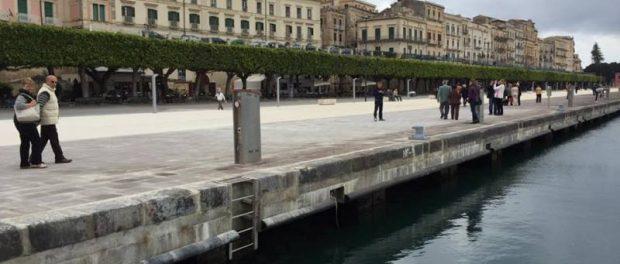 nuova banchina Marina Passeggiata siracusa times 1
