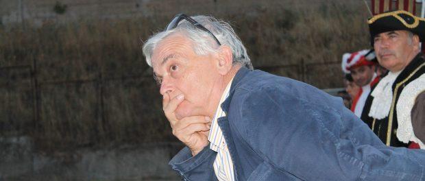 Il presidente del Corteo Barocco Corrado Di Lorenzo