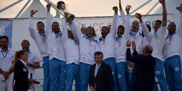 italia campione del mondo canoa polo siracusa times