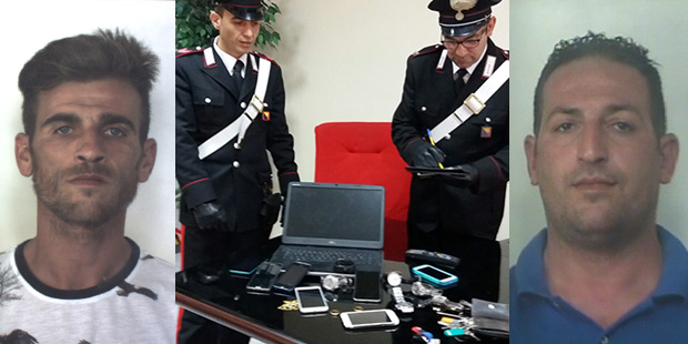 Arrestati a Siracusa due fratelli accusati di numerosi furti$