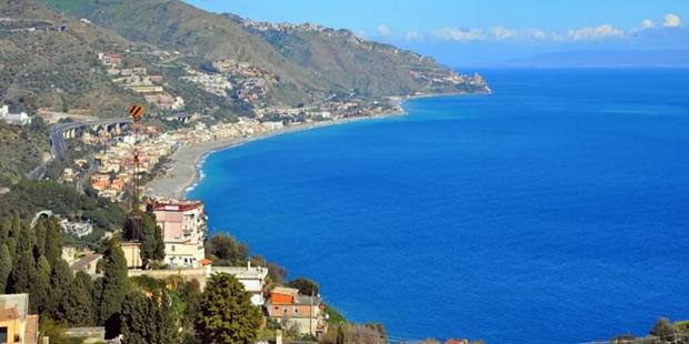 Strada Panoramica Taormina Siracusa