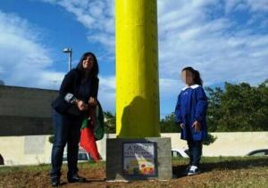 Denise: stele a Mazara del Vallo