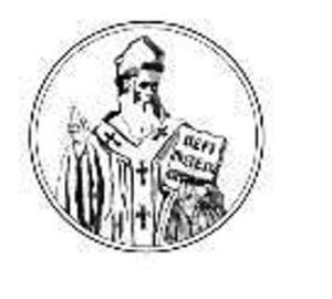 """Logo Istituto Superiore di Scienze Religiose """"San Metodio"""""""