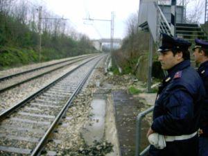 furto in ferrovia