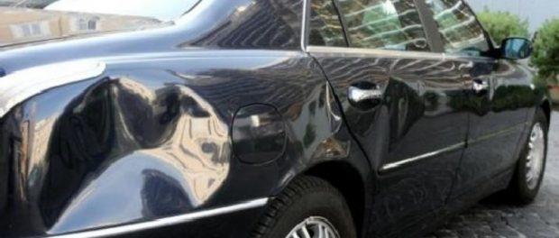 auto danneggiata siracusa times