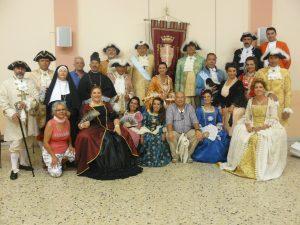 i protagonisti del Corteo Barocco a Niscemi siracusa times