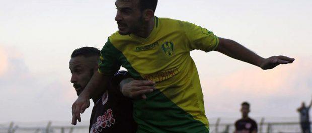 Il difensore gialloverde Danilo Ulma