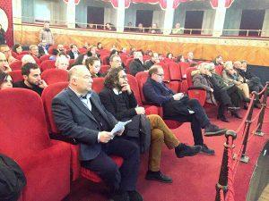 Corteo barocco di noto serata conclusiva - il pubblico al Teatro siracusa times