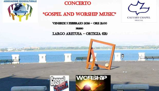 gospel and worship music concerto siracusa times