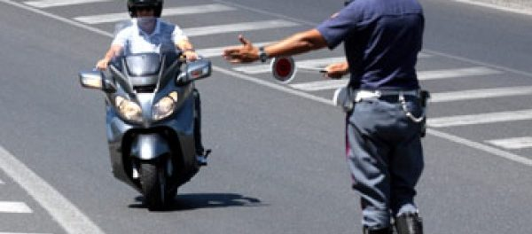 moto-polizia