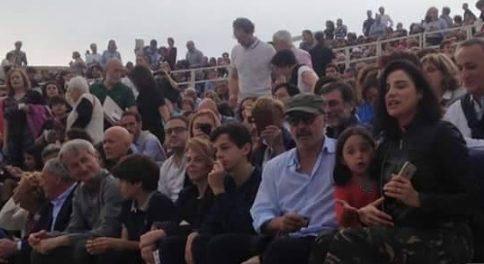 zingaretti al teatro greco
