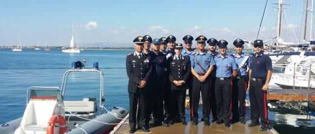 Col. Grasso saluta i militari a ferragosto (1)