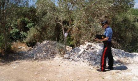 discarica di canicattini bagni carabinieri Siracusa Times