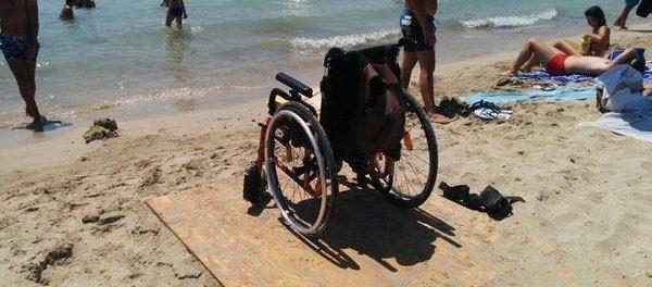 pedana per disabili a fontane bianche - siracusatimes