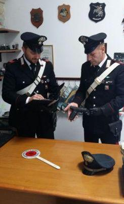 carabinieri-ortigia-pistola