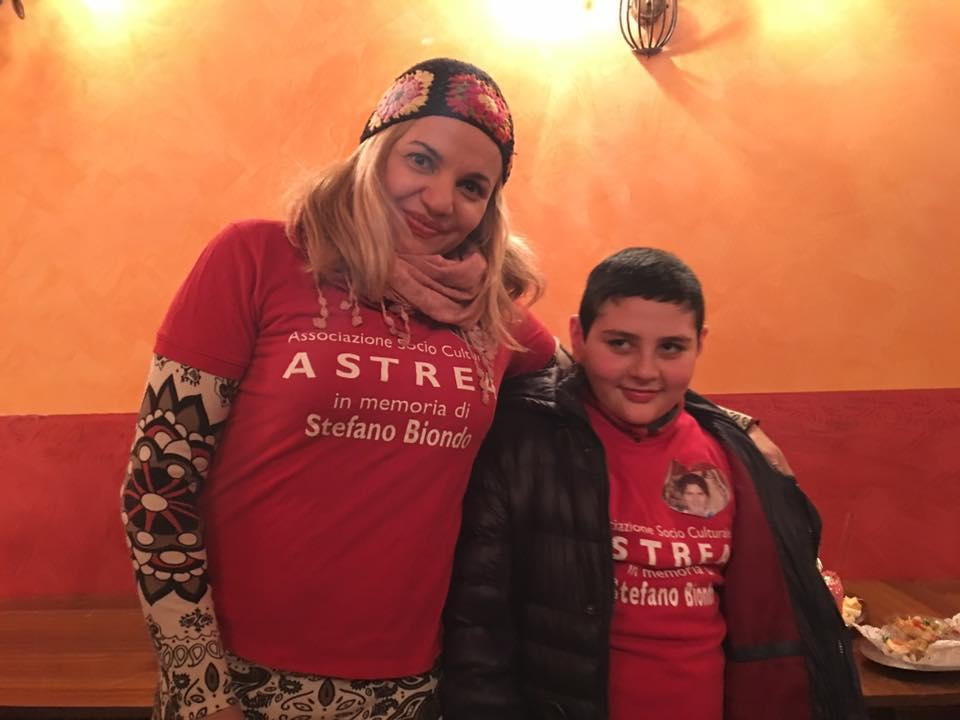Rossana La Monica e il piccolo Tomas Siracusa Times