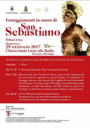 manifesto san sebastiano