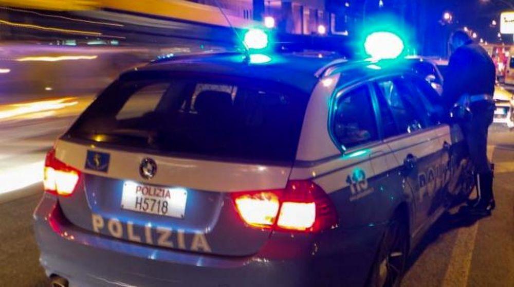 polizia autostradale polstrada notte