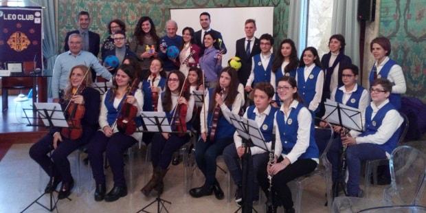 donazione sport arte banda orchestra istituto verga leo club siracusa times