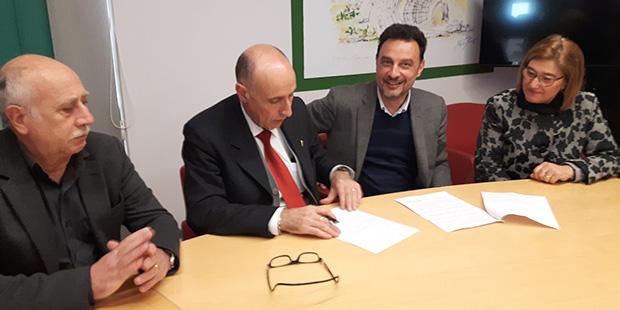 Centro Unico Prenotazioni firma protocollo d'intesa